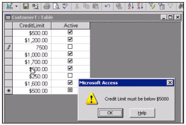 how to use list boxes in access fields